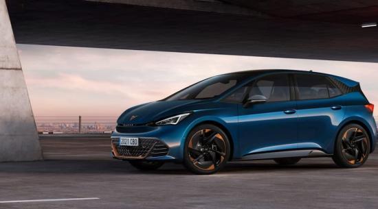 Seat Cupra Born作为西班牙表演品牌的第一辆电动汽车亮相