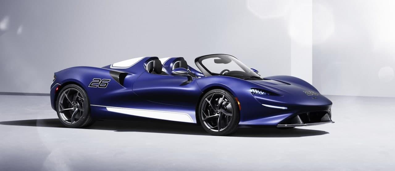 汽车动态:迈凯轮为埃尔瓦安装了挡风玻璃