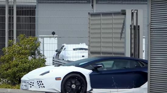 这款神秘的兰博基尼可能成为新的混合动力Aventador
