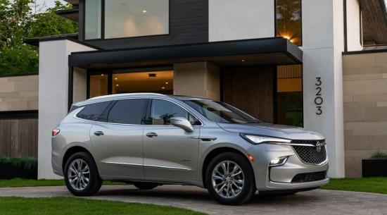 2022款别克飞地三排SUV的增强与再设计