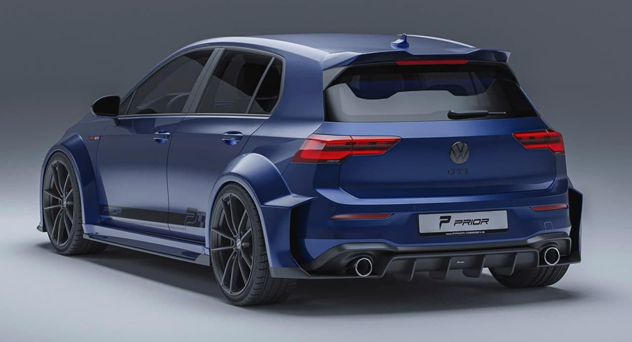 汽车动态:2022款大众高尔夫GTI Mk8 的 Wild Widebody 套件会让您感兴趣吗?