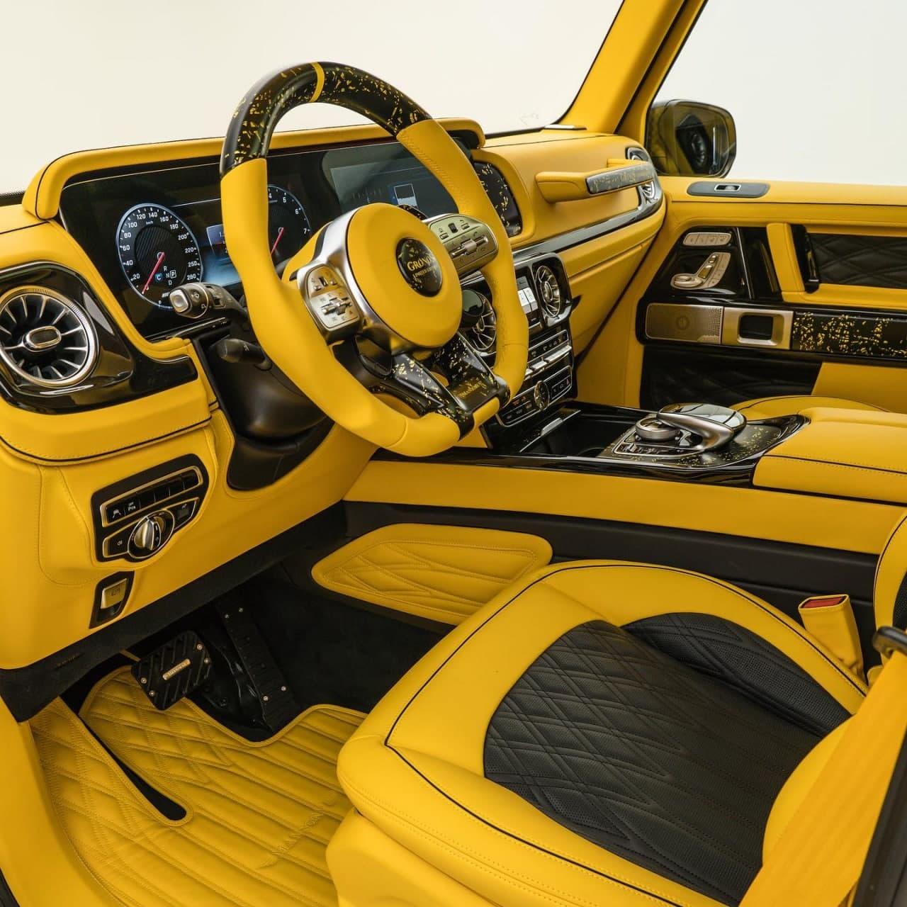 汽车动态:Mansory Gronos是梅赛德斯-奔驰G级的大黄蜂
