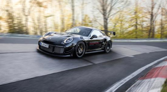 纽博格林世界上最快的街头合法汽车现在是经过调整的保时捷 911 GT2