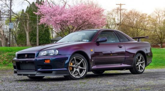 另一款罕见的1999款日产Skyline GT-R V-Spec午夜紫色II即将发售