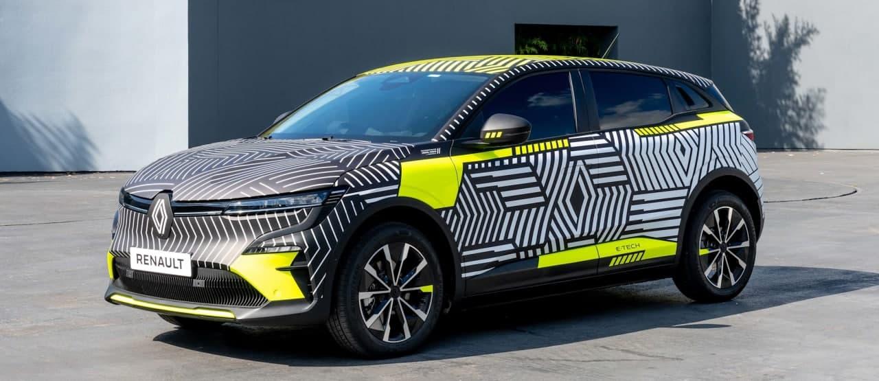 雷诺将在慕尼黑车展上推出 Megané E-Tech 电动车
