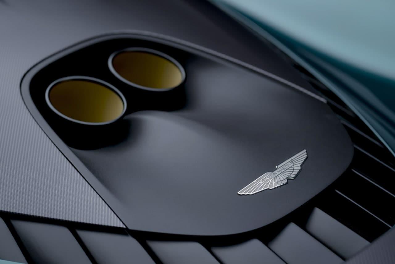汽车动态:阿斯顿马丁展示了具有937HP Hybrid V8 的生产规格 Valhalla