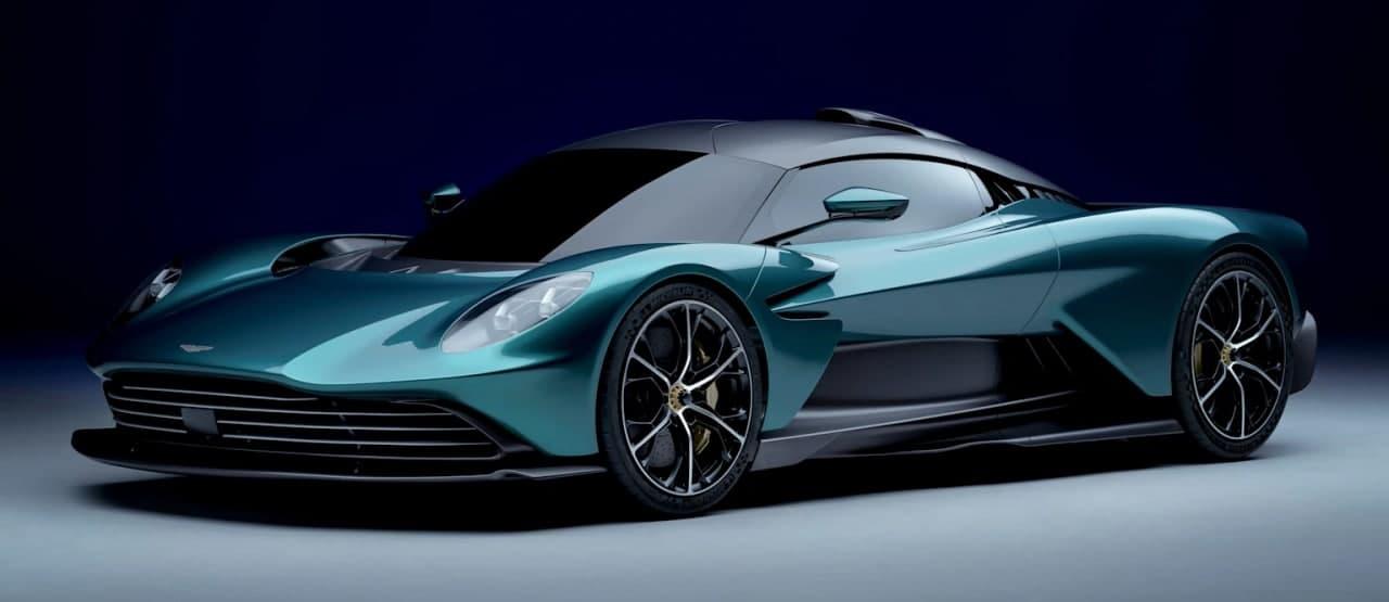 汽车动态:阿斯顿马丁揭开其瓦尔哈拉超级跑车的面纱