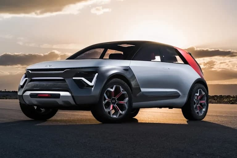 2022年起亚Niro EV再次在德国接受测试