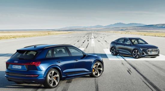高性能电动汽车:496 马力奥迪 e-tron S 加入美国 2022 年阵容