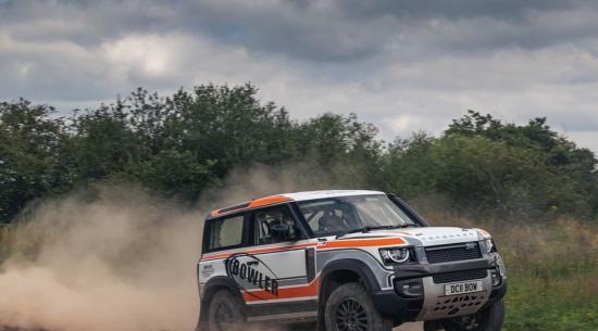 Land Rover 保龄球后卫挑战赛:技巧不足,乐趣很大