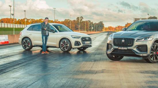汽油对柴油!哪种性能 SUV 在阻力带上更快?