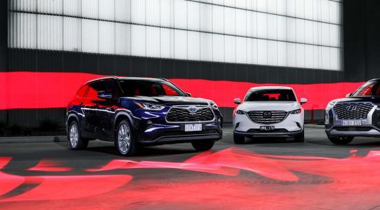 大型SUV比较:2022 年丰田克鲁格 vs 现代 Palisade vs 马自达 CX-9