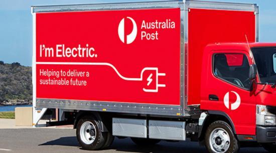 澳大利亚邮政为其车队增加了 20 辆 Fuso eCanter 电动卡车