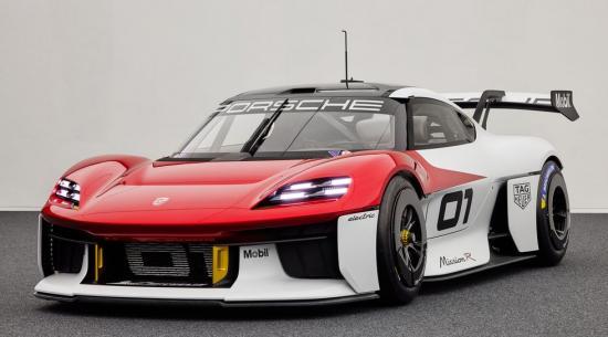 1073-HP 保时捷Mission R 预览客户赛车的电动未来