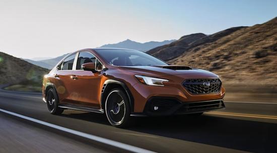 2022 斯巴鲁 WRX:全新性能轿车亮相