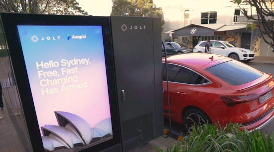 悉尼开设免费路边电动汽车充电站