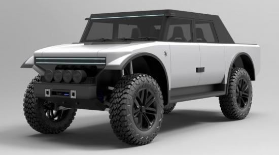 一家新的英国公司正在建造一辆织物覆盖的电动皮卡车