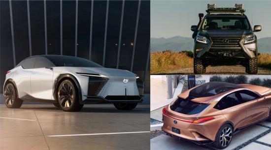 未来的雷克萨斯 SUV 初具规模,包括 TX 和 RZ、下一代 GX 和 LX