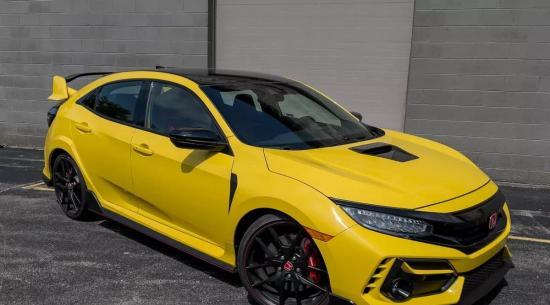 2021 Honda Civic Type R 限量版评测:轻一点,大一点