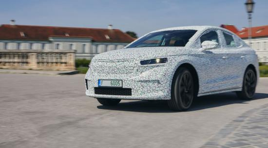第一次驾驶:2022 斯柯达 Enyaq Coupe iV 原型车