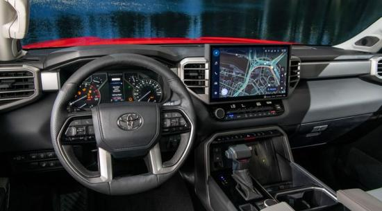 2022 年丰田 Tundra 在雪佛兰、福特、Ram 皮卡上大放异彩
