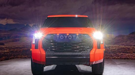 2022年丰田苔原重新设计揭示:双涡轮增压V6,可选混合动力