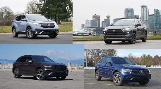 2021 年和 2022 年最佳紧凑型 SUV