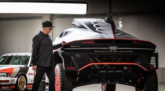 Ken Block 与奥迪签约以帮助开发电动汽车