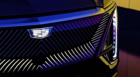 凯迪拉克电动汽车将获得经典标志的新黑白版本