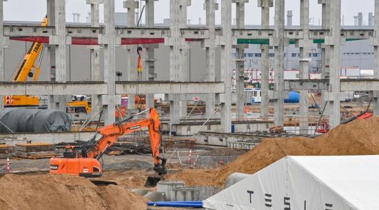 特斯拉的柏林超级工厂准备建造 Model Y